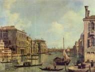 El Gran Canal y la Iglesia de la Salute (1730), Houston, Museum of Fine Arts.