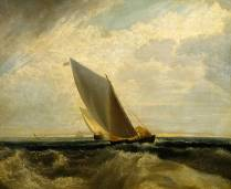 A Fresh Breeze (after 'Sheerness and the Isle of Sheppey') null Joseph Mallord William Turner 1775-1851 Bequeathed by George Salting 1910 http://www.tate.org.uk/art/work/N02642