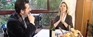 Marta Robles y Carlos Gª Hitchfield en la Gran Tasca