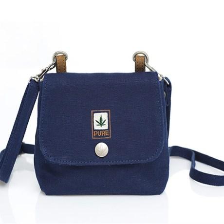 Petit sac bandoulière pure HF-0025 bleu