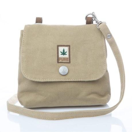 Petit sac bandoulière pure HF-0025 camel