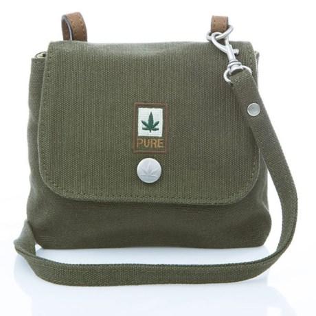 Petit sac bandoulière pure HF-0025 Kaki