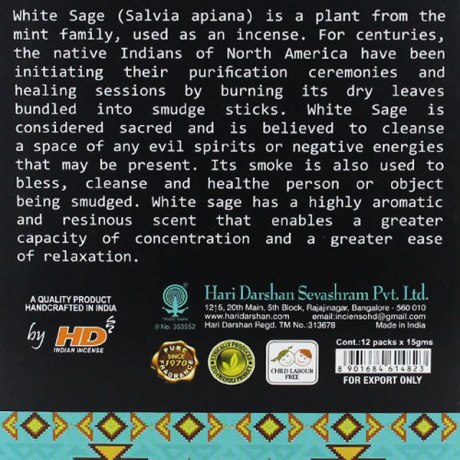 Encens Tribal Soul White Sage