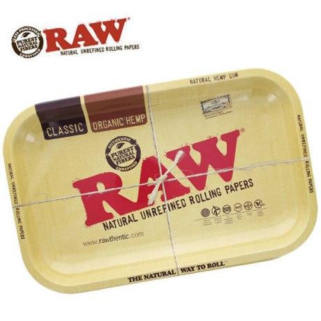 """Plateau métal Raw """"Classic"""". Dim: 27,5 x 17,5cm"""