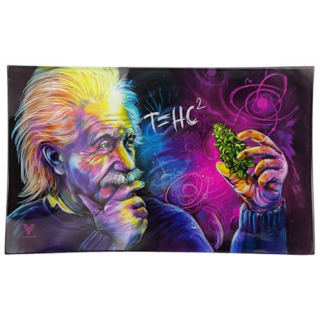 Plateau de roulage verre A.Einstein T=HC²