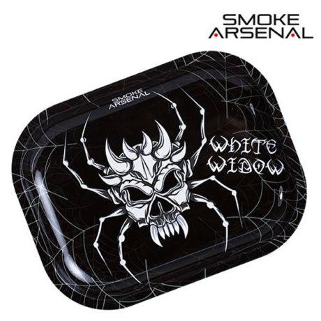 """Plateau Smoke Arsenal """" White Widow"""". Dim: 18 x 14cm"""