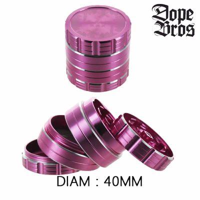 Grinder métal Dope Bros 40mm Rose