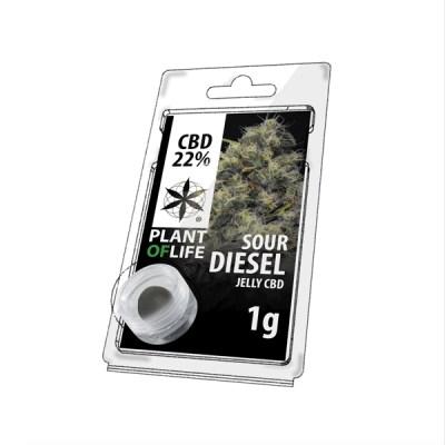 Sour Diesel jelly 22% cbd 1g