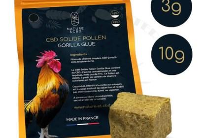 Pollen Gorilla Glue cbd 3g-10g