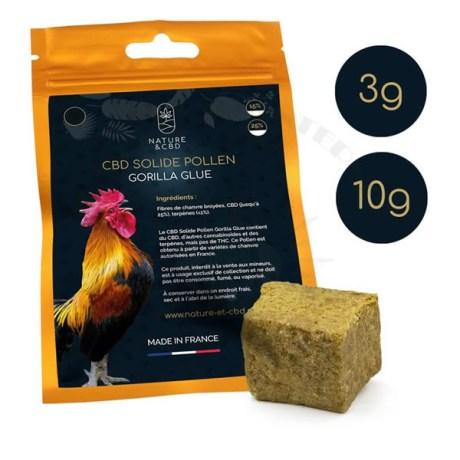 cbd-solide-pollen-gorilla-glue-3g-10g