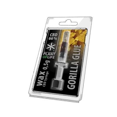 Gorilla Glue Wax 66% cbd 0.5g