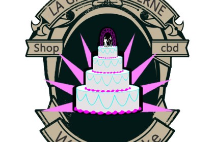 wedding cake fleurs cbd