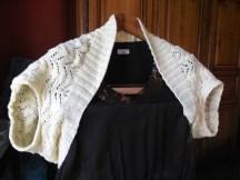 Un Boléro au tricot simple et facile