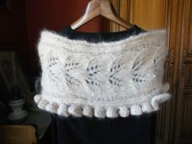 CHAUFFE EPAULE au tricot