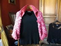 Boléro au tricot pour ma fille