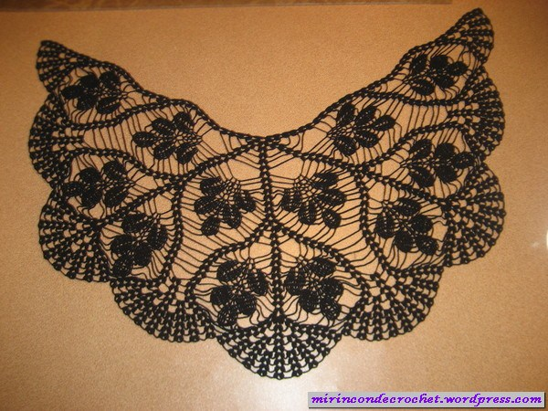 Crochet pour l'été un châle papillon