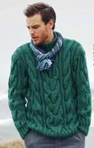 bc535157a4731 Tricot un pull homme - La Grenouille Tricote