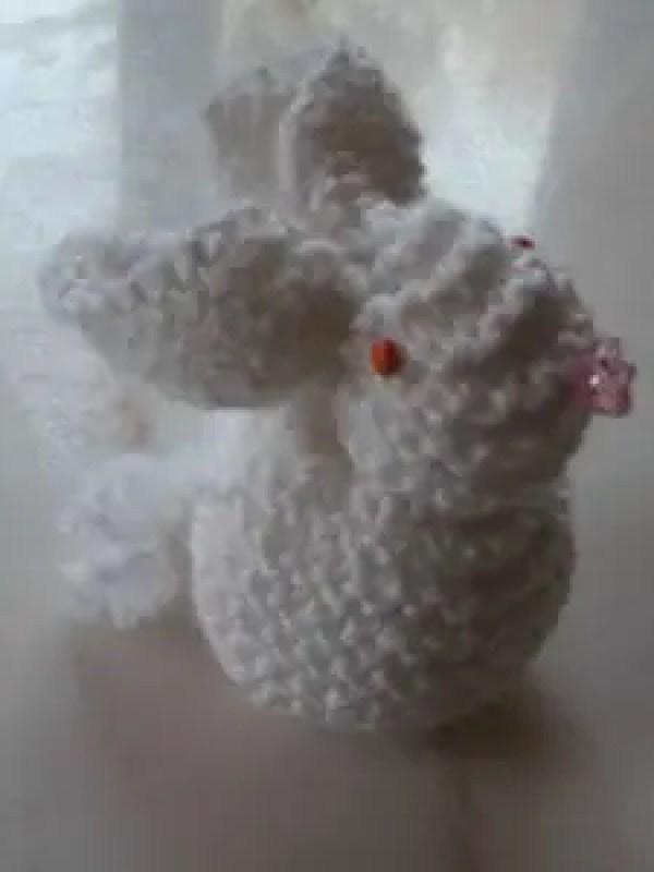 Tricot des lapins de Pâques