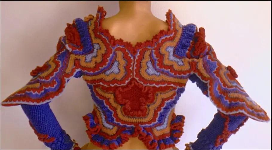 Une artiste du crochet Sharron HEDGES