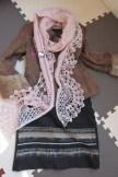 Une Fine Écharpe tricot-crochet