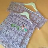 un pull pour maman et sa fille au crochet