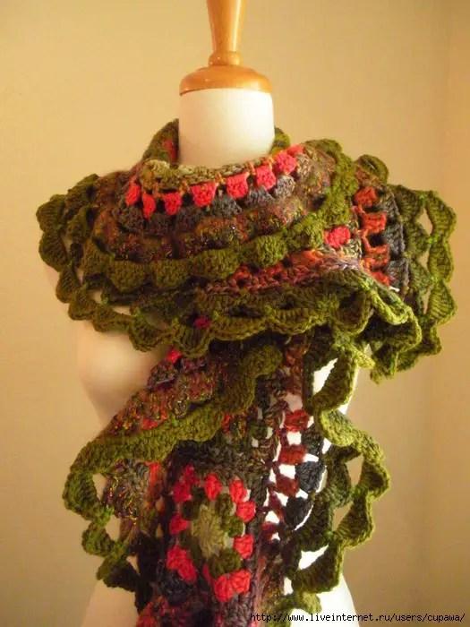 des granny pour une écharpe