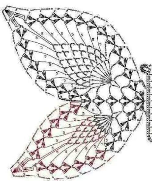 papillon -4- lagrenouilletricote.com