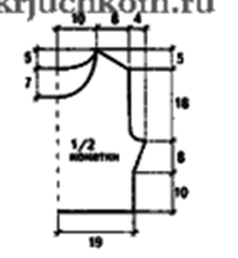 robe de plage -4- lagrenouilletricote.com