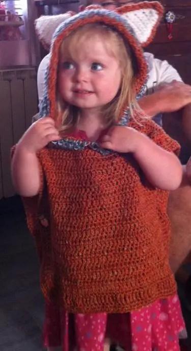 le poncho de ma petite princesse partie 2