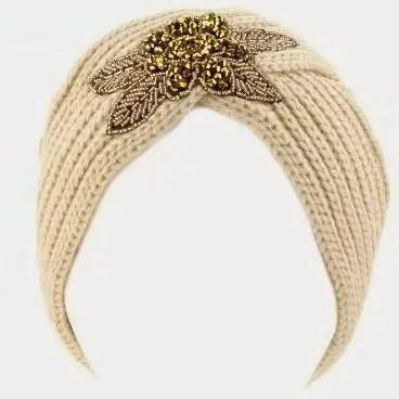 Un Turban vintage au crochet ou au tricot