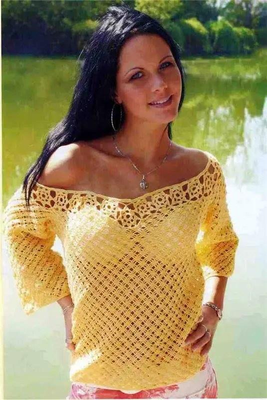 Un pull plein de soleil