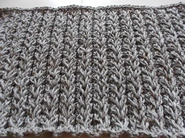 La vid o du point joli c ur la grenouille tricote - Point tricot facile joli ...