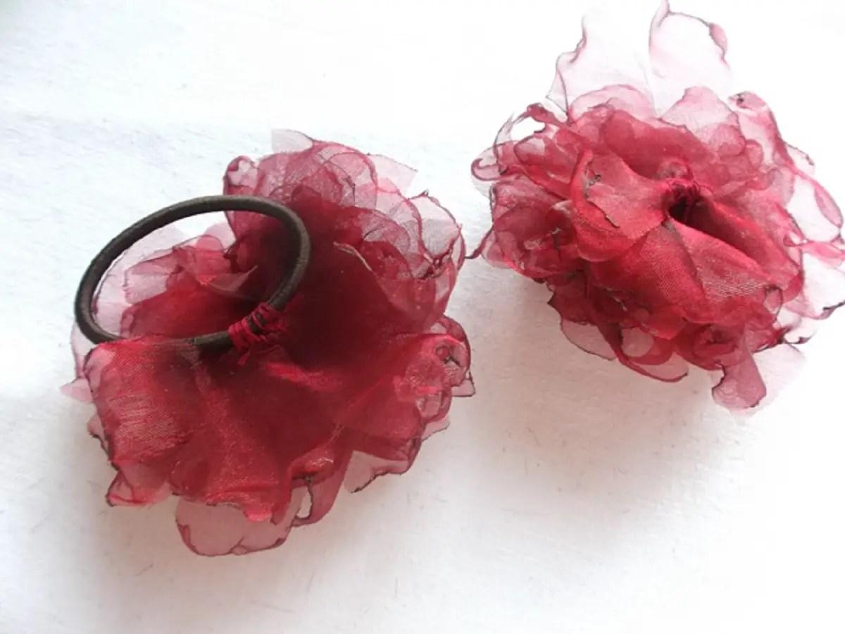 Comment faire des fleurs en tissu