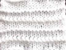 Au tricot le surprenant point lampion