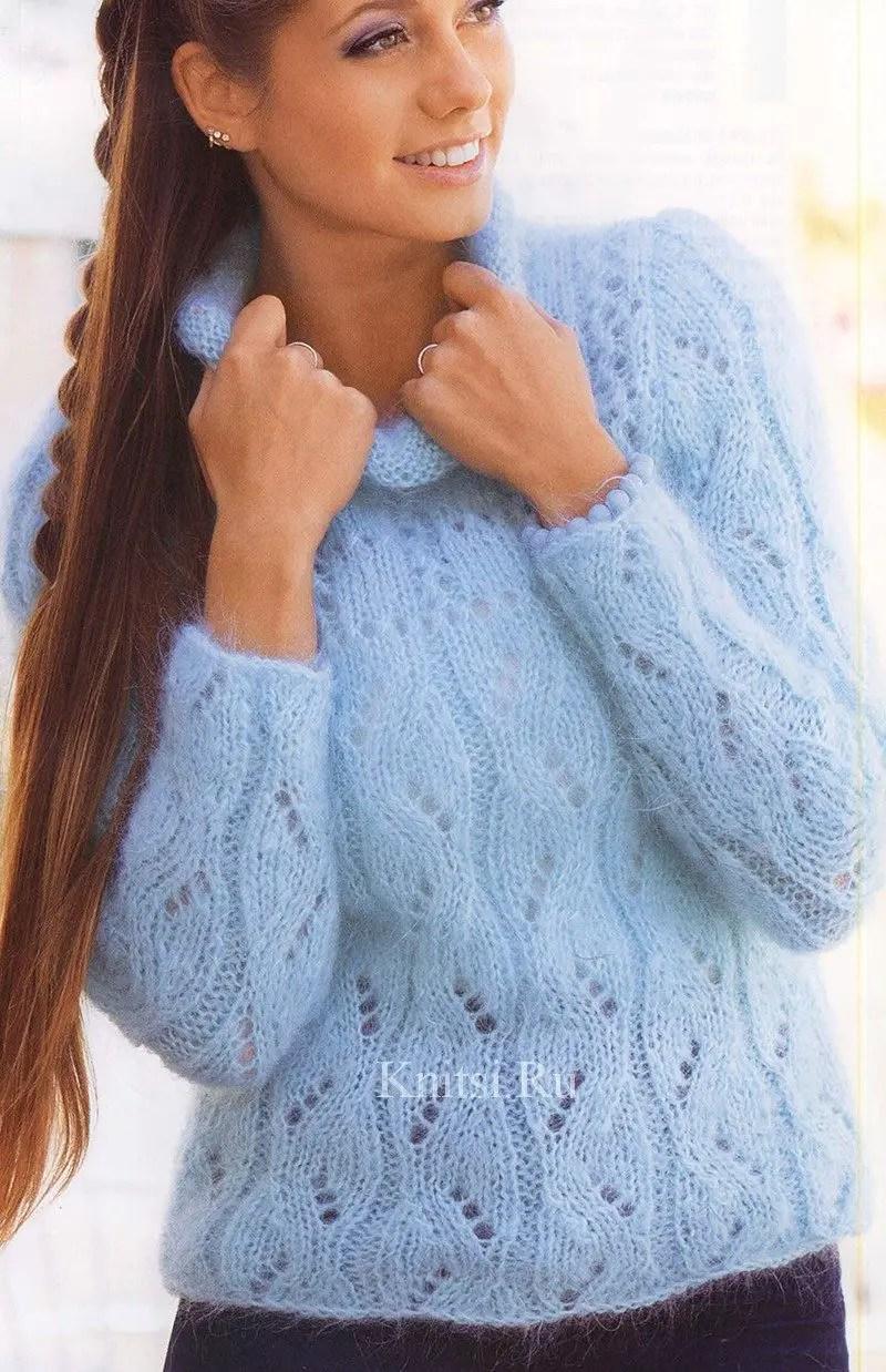 aujourd hui je vous propose un pull réalisé au tricot le dessin est simple  mais j aime beaucoup le résultat 6a0370852ec
