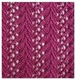 un beau point tricot mais