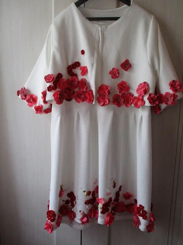 L'avancée de ma robe pour la journée du 9 septembre