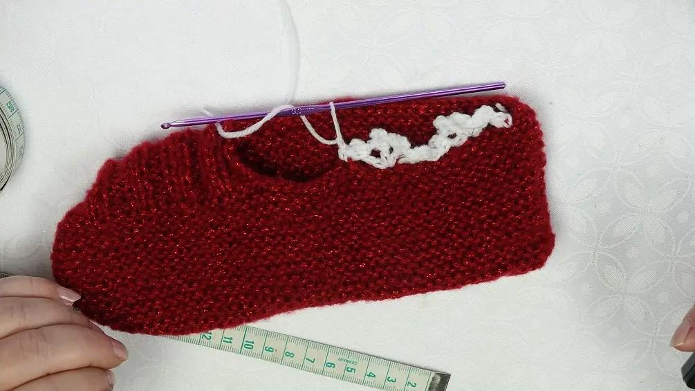 des chaussons au tricot pour cet hiver