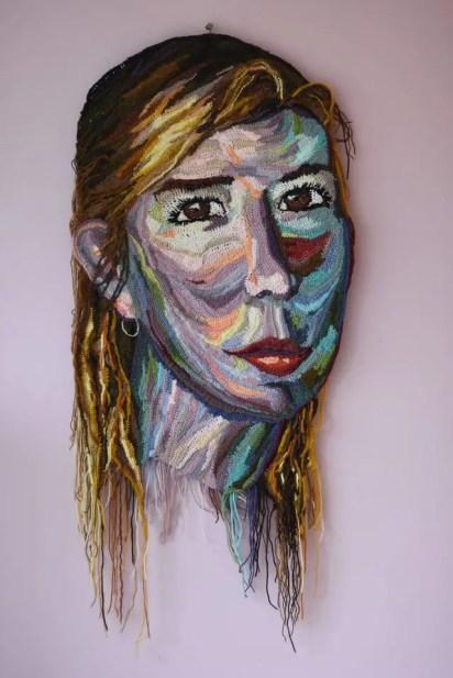 Portraits au crochet d'une artiste surprenante