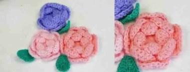 Des roses au crochet et en vidéo