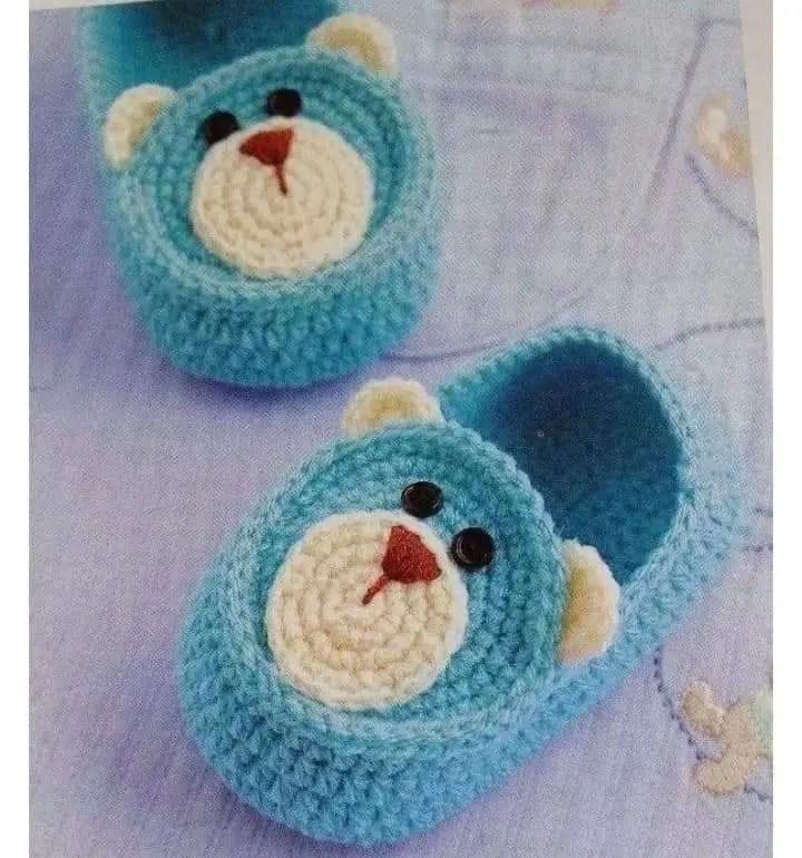 Quelques modèles de chaussons bébé