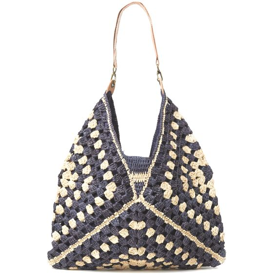 Le sac French Fashion au crochet