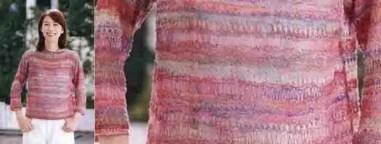Le pull léger pour la rentrée au tricot