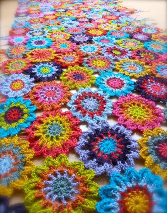 Les fleurs japonaises au crochet