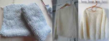 Le pull doudou au tricot comment faire