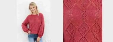 Au tricot un pull femme