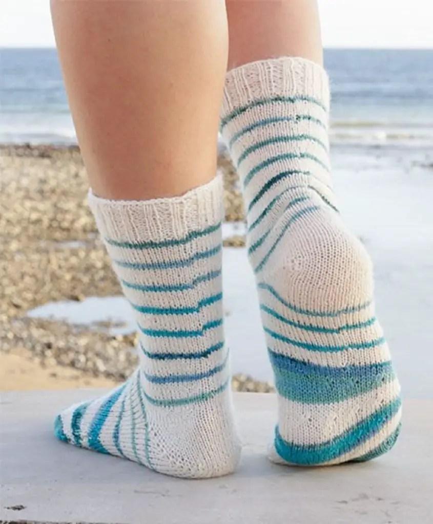 Le retour des chaussettes fait maison