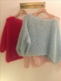 Le pull je suis à l'aise au tricot