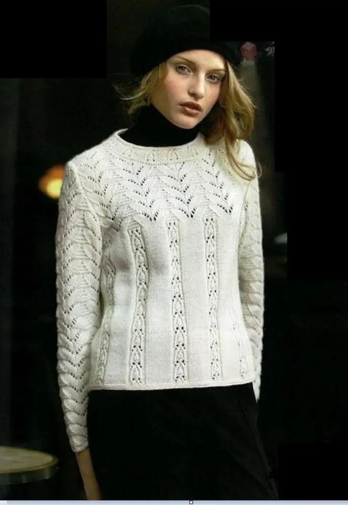 Un pull femme chic et original
