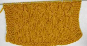 Point tricot fantaisie